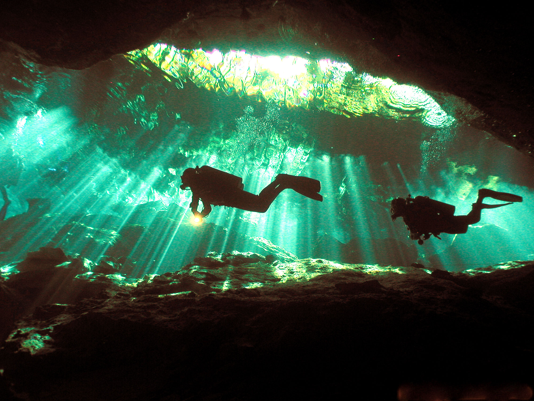 Diving in Yucatan